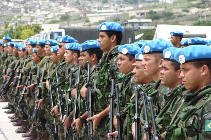 MINUSTAH in Haiti–do they look like the Haitians?
