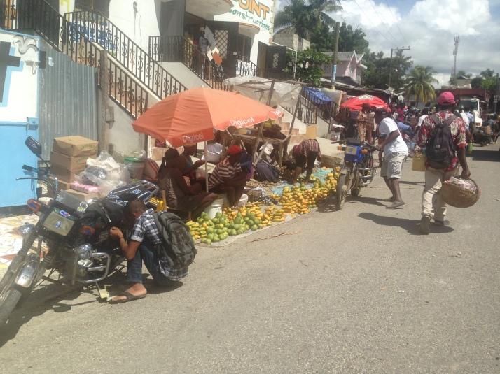 street scene haiti